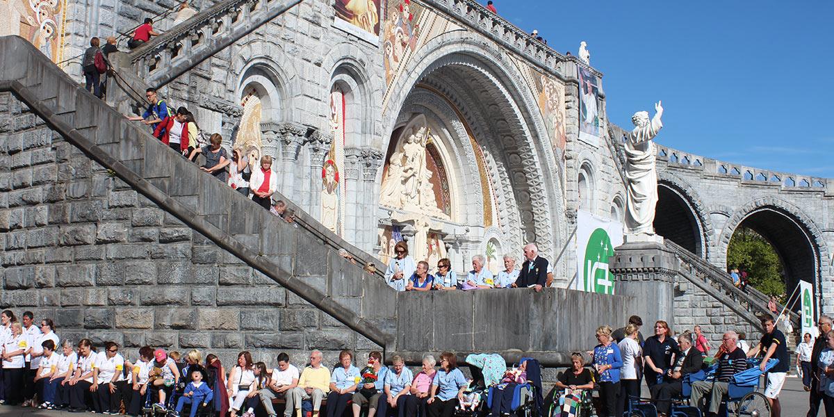 Gathering at Lourdes