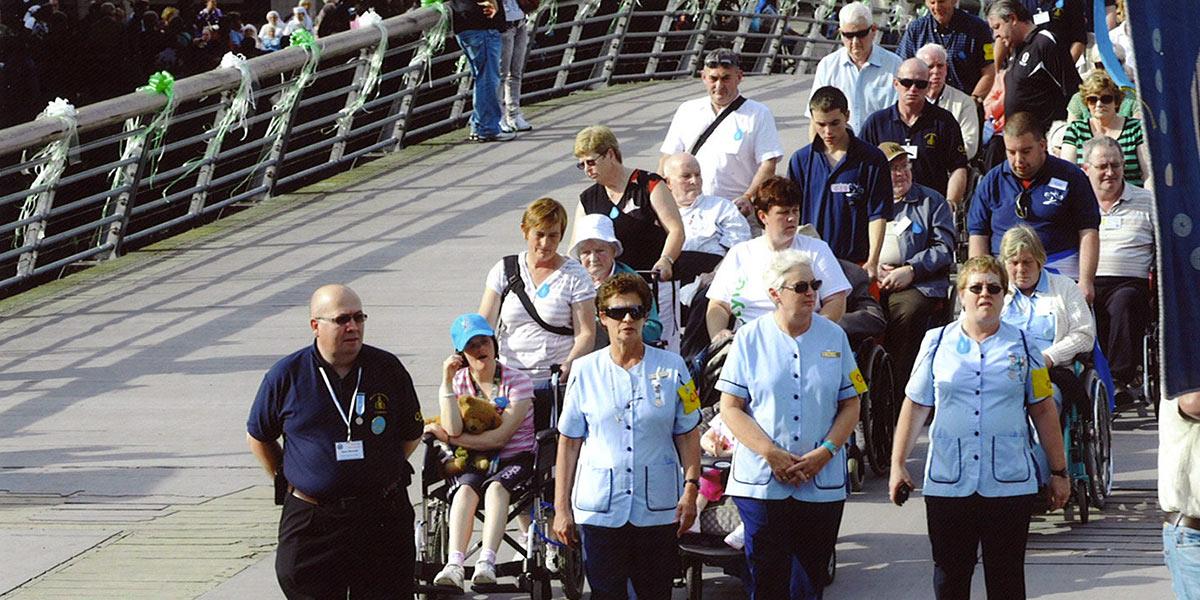 Lourdes people