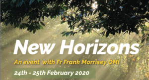 New Horizons - An event with Fr Frank Morrissey