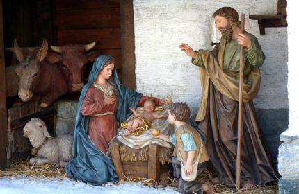 Christmas Nativity Crib