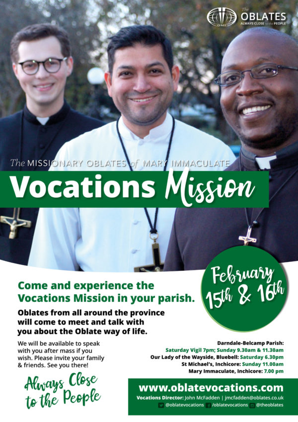 Vocations Mission Dublin