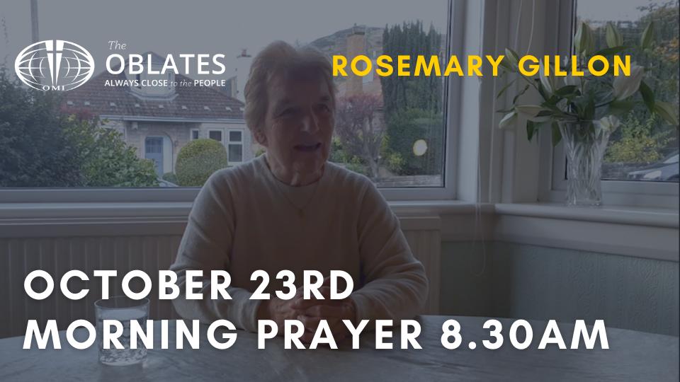 morning prayer october 23rd