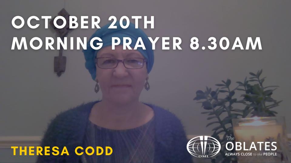 morning prayer october 20th