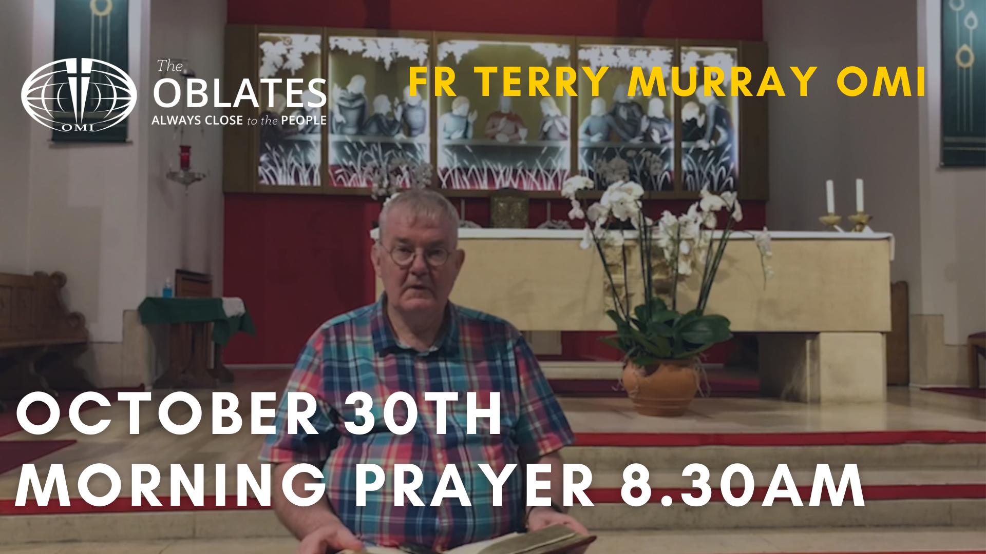 morning prayer october 30th
