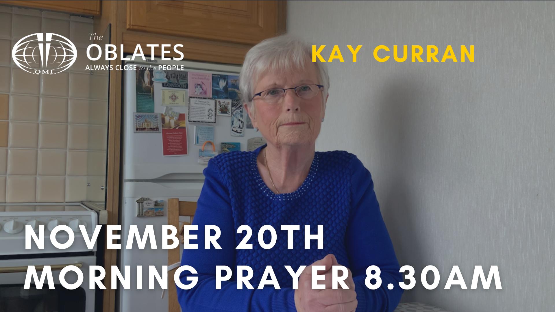 november 20th prayer