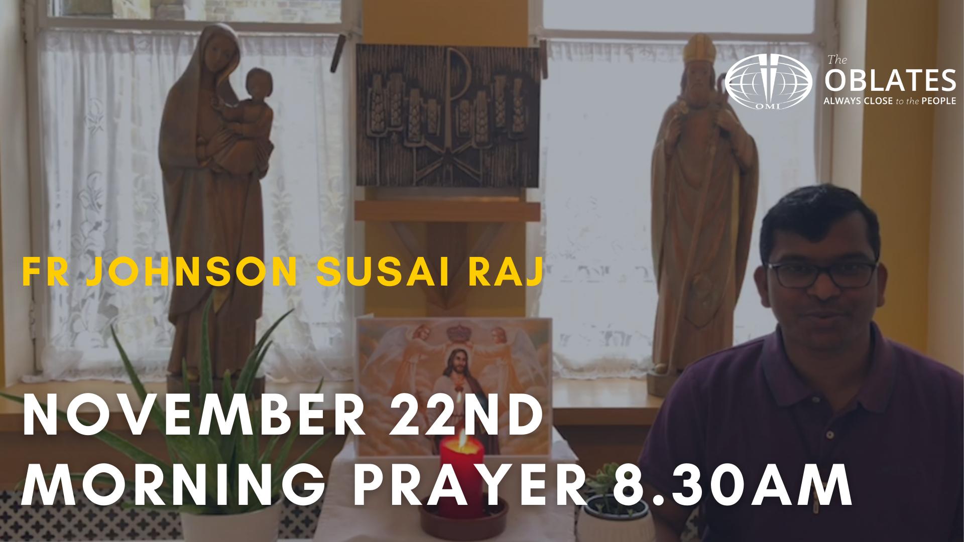 morning prayer november 22nd
