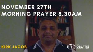 morning prayer november 27th