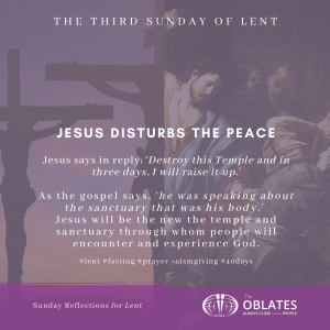sunday march 7th third sunday of lent