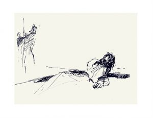 Praying the Way of the Cross 2021 : Jesus falls a third time by Luc Labante