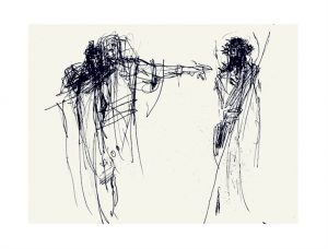 Praying the Way of the Cross 2021 : Jesus is Condemned to death by Luc Labante