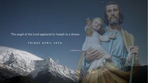 morning prayer April 30th