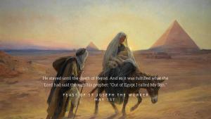 morning prayer may 1st st joseph