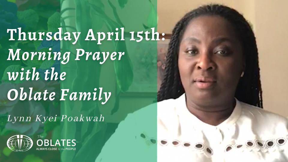 morning prayer april 15th
