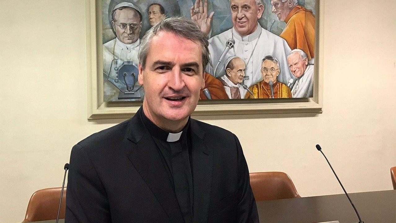 Fr Andrew Small OMI via Vatican news