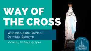 way of the cross lourdes