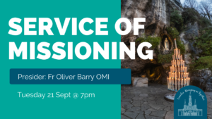 closing service of missioning lourdes oblates